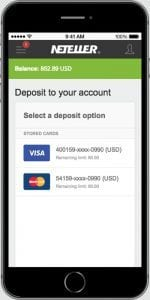How to make a deposit with Neteller Casino e-wallet